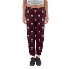 Bloody Cute Zombie Women s Jogger Sweatpants by AnjaniArt