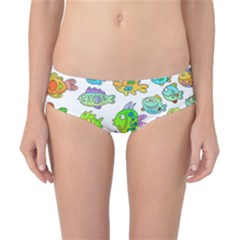 Fishes Col Fishing Fish Classic Bikini Bottoms by AnjaniArt