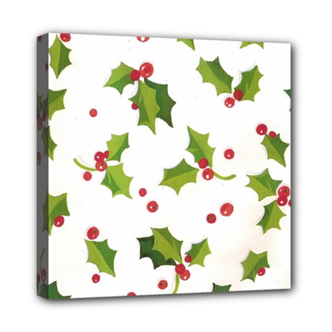Images Paper Christmas On Pinterest Stuff And Snowflakes Mini Canvas 8  X 8  by AnjaniArt