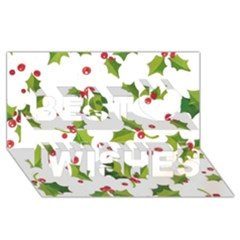 Images Paper Christmas On Pinterest Stuff And Snowflakes Best Wish 3d Greeting Card (8x4) by AnjaniArt