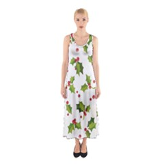 Images Paper Christmas On Pinterest Stuff And Snowflakes Sleeveless Maxi Dress by AnjaniArt