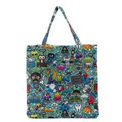 Monster Grocery Tote Bag
