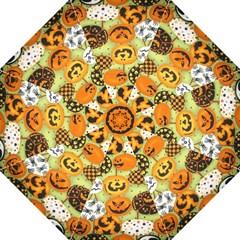 Print Halloween Folding Umbrellas by AnjaniArt