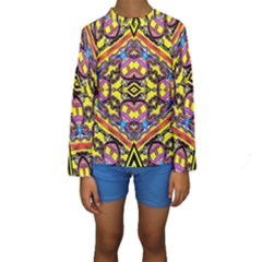 Spirit Time5588 52 Pngyg Kids  Long Sleeve Swimwear