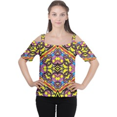 Spirit Time5588 52 Pngyg Women s Cutout Shoulder Tee