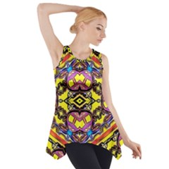 Spirit Time5588 52 Pngyg Side Drop Tank Tunic