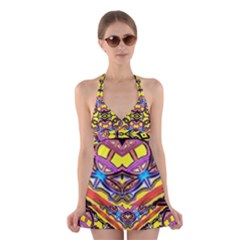 Spirit Time5588 52 Pngyg Halter Swimsuit Dress