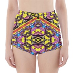 Spirit Time5588 52 Pngyg High Waisted Bikini Bottoms