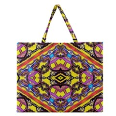Spirit Time5588 52 Pngyg Zipper Large Tote Bag by MRTACPANS