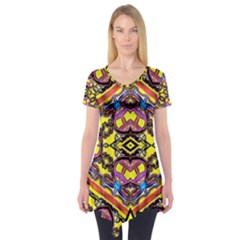 Spirit Time5588 52 Pngyg Short Sleeve Tunic