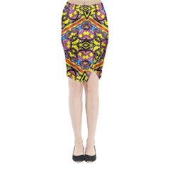 Spirit Time5588 52 Pngyg Midi Wrap Pencil Skirt