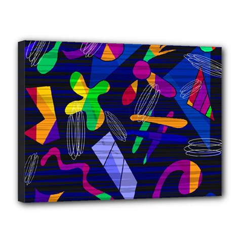 Colorful Dream Canvas 16  X 12  by Valentinaart