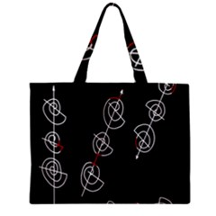 Direction Zipper Mini Tote Bag by Valentinaart