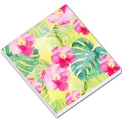 Tropical Dream Hibiscus Pattern Small Memo Pads by DanaeStudio