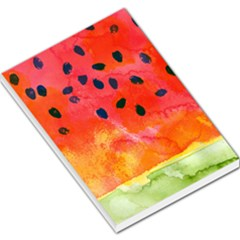 Abstract Watermelon Large Memo Pads by DanaeStudio