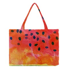 Abstract Watermelon Medium Tote Bag by DanaeStudio