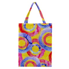 Blue And Pink Dream Classic Tote Bag by DanaeStudio