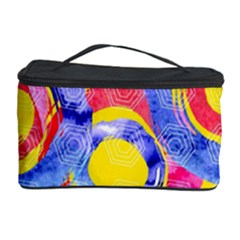 Blue And Pink Dream Cosmetic Storage Case by DanaeStudio
