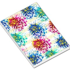 Colorful Dahlias Large Memo Pads
