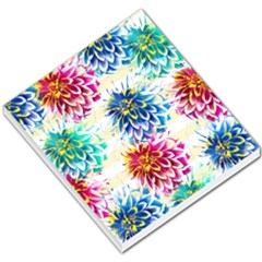 Colorful Dahlias Small Memo Pads
