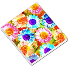 Colorful Daisy Garden Small Memo Pads by DanaeStudio