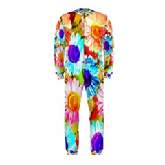 Colorful Daisy Garden Onepiece Jumpsuit (kids) by DanaeStudio