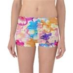 Colorful Pansies Field Reversible Bikini Bottoms