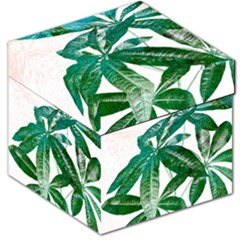 Pachira Leaves  Storage Stool 12