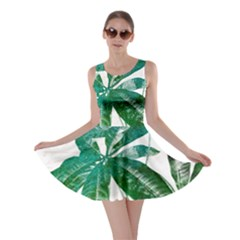 Pachira Leaves  Skater Dress