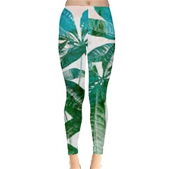 Pachira Leaves  Leggings