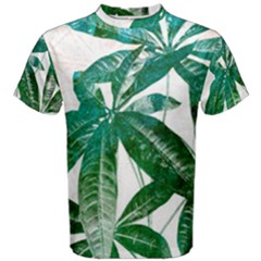 Pachira Leaves  Men s Cotton Tee