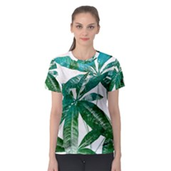 Pachira Leaves  Women s Sport Mesh Tee