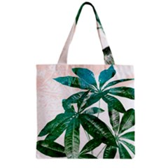 Pachira Leaves  Grocery Tote Bag