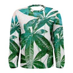 Pachira Leaves  Men s Long Sleeve Tee by DanaeStudio