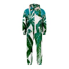 Pachira Leaves  Hooded Jumpsuit (kids)