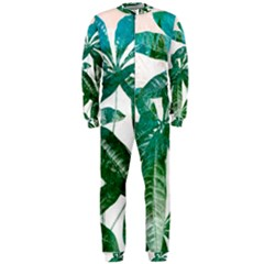 Pachira Leaves  Onepiece Jumpsuit (men)