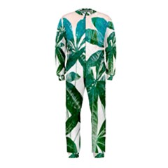 Pachira Leaves  Onepiece Jumpsuit (kids)