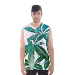Pachira Leaves  Men s Basketball Tank Top