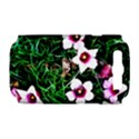 Pink Flowers Over A Green Grass Samsung Galaxy S III Hardshell Case (PC+Silicone) View1