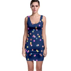 Playful Confetti Sleeveless Bodycon Dress
