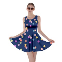 Playful Confetti Skater Dress