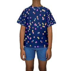 Playful Confetti Kids  Short Sleeve Swimwear
