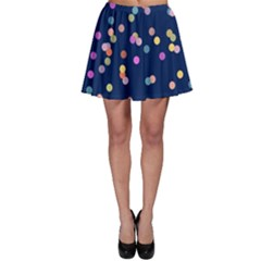 Playful Confetti Skater Skirt