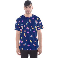 Playful Confetti Men s Sport Mesh Tee