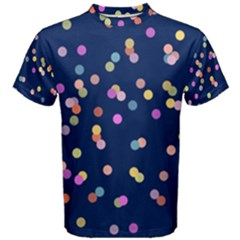 Playful Confetti Men s Cotton Tee