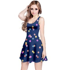Playful Confetti Reversible Sleeveless Dress by DanaeStudio