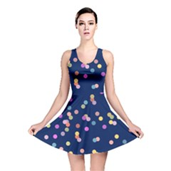 Playful Confetti Reversible Skater Dress