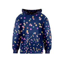 Playful Confetti Kids  Pullover Hoodie