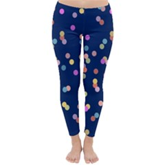 Playful Confetti Classic Winter Leggings