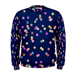 Playful Confetti Men s Sweatshirt by DanaeStudio